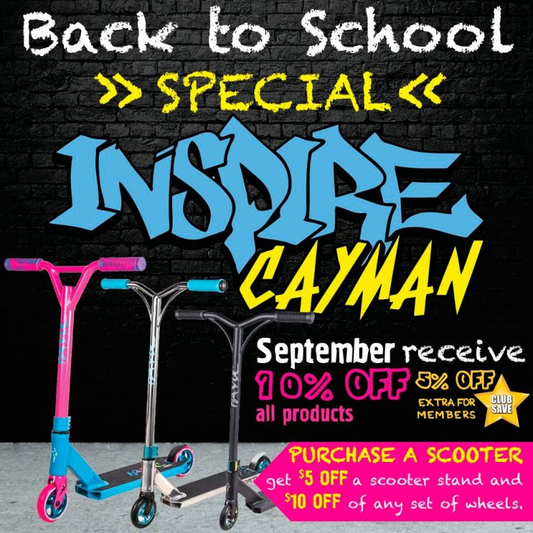 Inspire cayman-Back to School Special